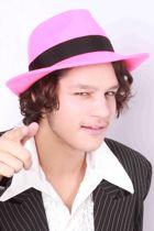 Al Capone hoed wolvilt pink Maat 61