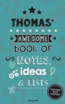 Thomas' Awesome Book of Notes, Lists & Ideas