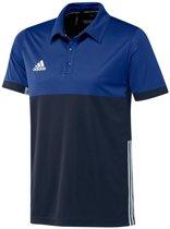 adidas T16 'Oncourt' Polo Heren - Shirts  - blauw donker - XS