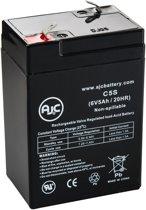 AJC® battery compatibel met Enduring CB 4-6 6V 5Ah Lood zuur accu