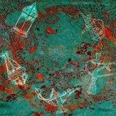 Arabische schilderij Oriëntal Groen