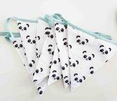 Fabs World vlaggetjeslijn Panda Jade