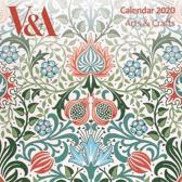 V&a Arts & Crafts - Mini Wall Calendar 2020 (Art Calendar)