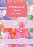 Watercolor Wine Journal