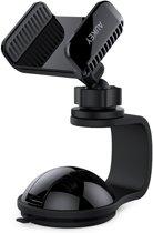 AUKEY Autohouder 360 graden draaibare voorruit Dashboard Autotelefoonhouder Universeel voor GPS, iPhone 7/6/5, Samsung en andere Android, Windows Smartphones