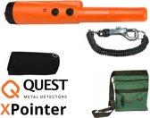 Deteknix Xpointer oranje pinpointer metaaldetector