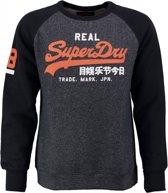 Superdry blauwe sweater Maat - S