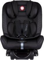 Lionelo Sander -  Autostoel 0-36kg Isofix - (voorwaarts en achterwaarts te plaatsen) toptether met ligstand zwart