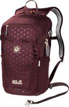 Jack Wolfskin Alleycat 18 Pack Backpack - Unisex - Port Wine Grid - ONE SIZE