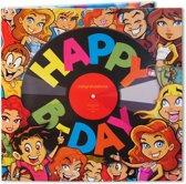 Happy B-day (Feel the beat) - Wenskaart met muziek - #7