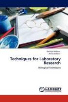 Techniques for Laboratory Research