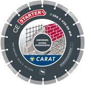 Carat diamantzaag universeel ø230x22,23mm, ce starter