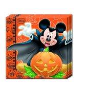 Procos Servetten Mickey Halloween Multicolor 33 X 33 Cm 20 Stuks