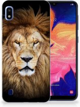 Samsung Galaxy A10 TPU Hoesje Design Leeuw