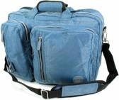 Adventure Bags Business  Laptop Rugtas - Crinkle Nylon - Blauw