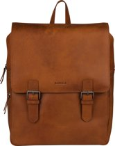 BURKELY On The Move Rugzak 14 inch laptopvak - Cognac
