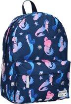 Milky Kiss Mermaid Tale Kinderrugzak 13,6 liter - Blauwe zeemeerminnen print