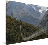 H Canvas 140x90 cm - Foto print op Canvas schilderij (Wanddecoratie woonkamer / slaapkamer)