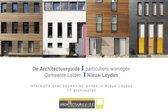 De Architectuurguide, gemeente Leiden, particuliere woningen, nieuw Leyden