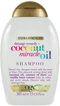 OGX Extra Strength Coconut Miracle Oil Shampoo- 385ml
