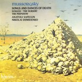 Mussorgsky: Songs & Dances of Death, Sunless etc / Safiulin, Demidenko