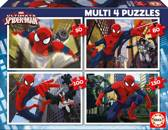 Educa Spider-Man - 4 puzzels van 50/80/100/150 stukjes