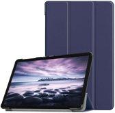 Samsung Galaxy Tab A 10.5 hoesje - Smart Tri-Fold Case - blauw