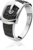 Zinzi ZIR682Z56 Ring - Zilver - Maat 56