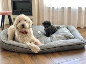 Meisterpet hondenbed / hondenmand - Grijs-XXXL (ca 150*110*20cm) W02