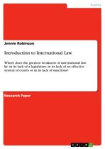 Introduction to International Law