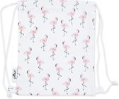 Jollein Flamingo Canvas Rugtasje