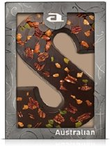 Australian Chocoladeletter Exclusive Dark - Letter S - 5 x 190 gram