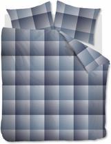 Beddinghouse Graham -  Dekbedovertrek - Flanel - Eenpersoons - 140x200/220 cm - Blauw