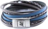 Leren armband van merk: