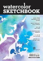 Watercolor Sketchbook - Medium Black Fliptop Spiral (Landscape)