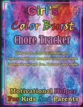 Girl's Color Burst Chore Tracker