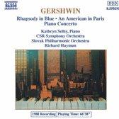 Gershwin: Rhapsody in Blue, Piano Concerto, etc / Selby