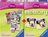 Minnie Mouse Boutique Puzzel + Memory