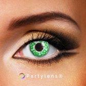 Partylenzen - Green Tickle - jaarlenzen inclusief lenzendoosje - kleurlenzen Partylens®