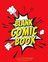 Blank Comic Book Journal Template for Kids and Adults. Create your Comics with 100 Pages of Blank Templates 8,5 x 11