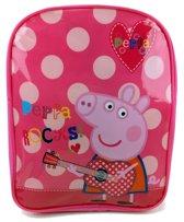 PEPPA PIG Rocks! Rugtas Rugzak School Tas Meisjes Lief 2-5 Jaar Roze