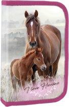 Animal Pictures Paard en Veulen - Gevuld Etui - 22 Stuks - Multi