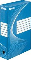 Esselte Boxycolor Archiefdoos - folio - 25 stuks - Blauw