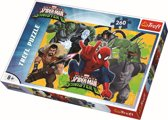 Puzzles - 260 - Spiderman in action Legpuzzel