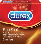 durex real Feel 3 stuks-condooms