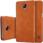 Nillkin Qin Series Leather Case OnePlus 3 - Brown