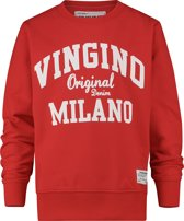 Vingino Jongens Trui - Flame Red - Maat 164