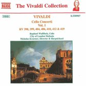 Vivaldi: Cello Concerti Vol 1 / Wallfisch, Kraemer