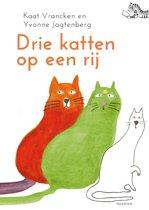 Tijgerlezen - Drie katten op een rij