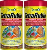 Tetra rubin 250 ml vlokken per 2 verpakkingen